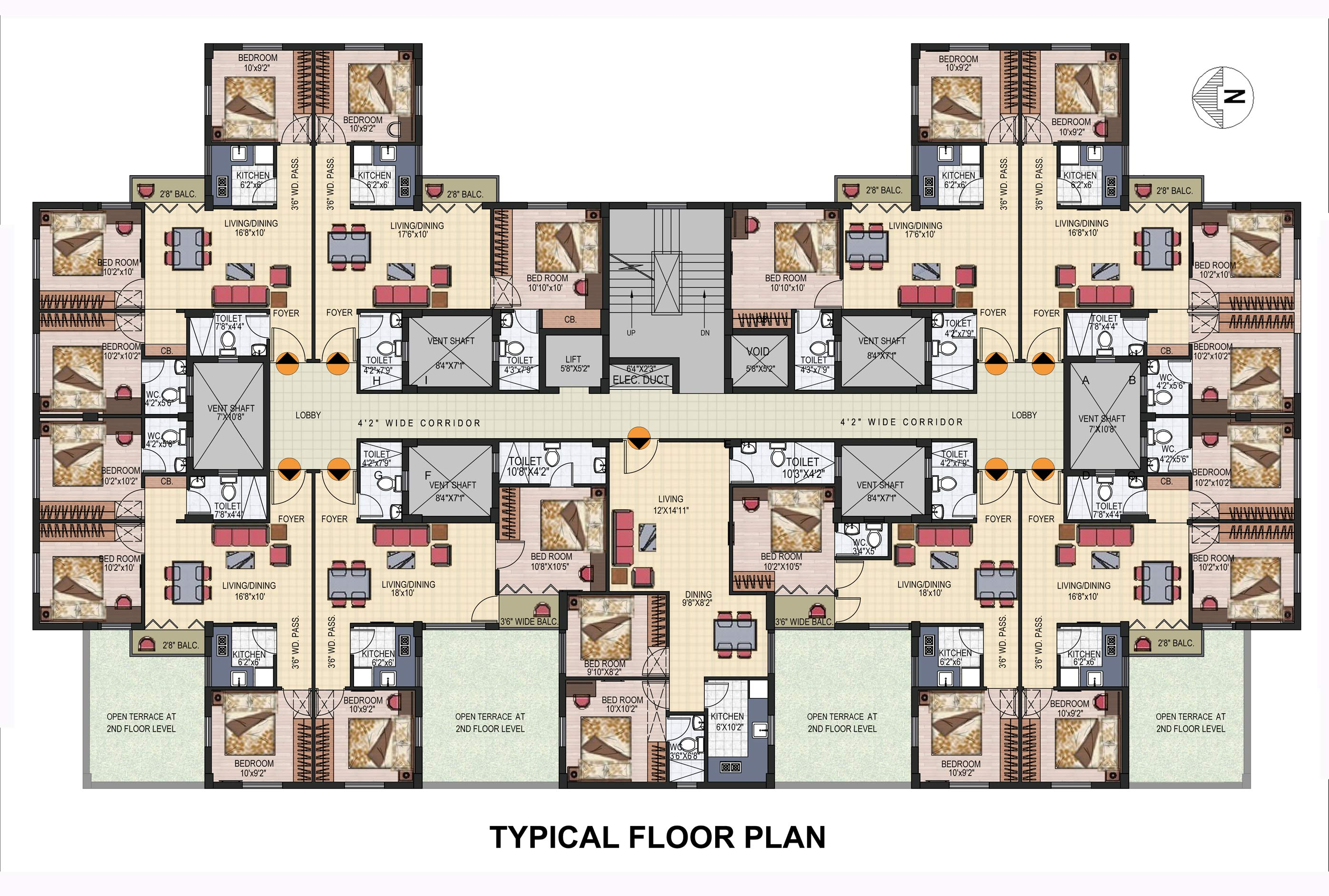 Typical Floor Plan Welcome To Sanhita